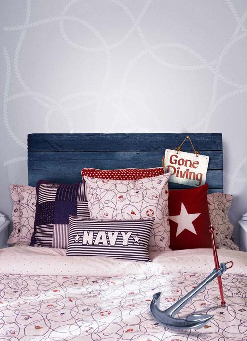 Habitaciones infantiles de estilo marinero - Habitaciones infantiles marineras ...