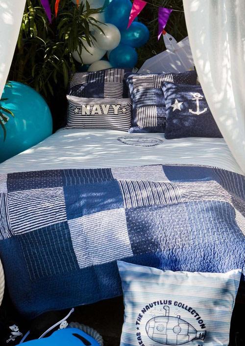 Habitaciones infantiles de estilo marinero
