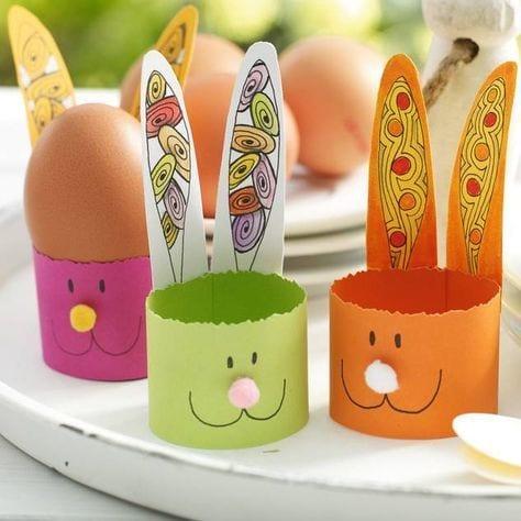 Manualidades soportes para huevos