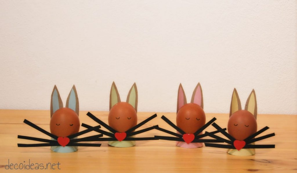 Soportes para huevos de Pascua