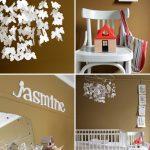 Pintar la habitación del bebé en tonos marrones
