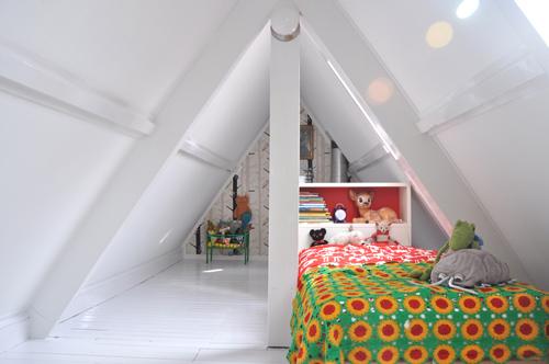 Otra habitaci n infantil en buhardilla decoideas net - Habitaciones en buhardillas ...