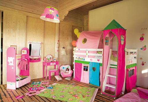 Camas altas de imaginarium for Modelos de habitaciones infantiles