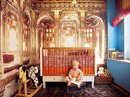 Habitaciones infantiles tematicas viaje a la india - Habitaciones infantiles tematicas ...