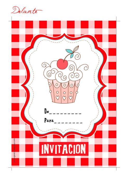 Invitaciones infantiles para descargar