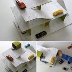 Como hacer un parking de cartón