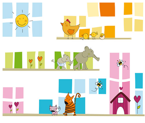 Murales infantiles de papel > Decoracion Infantil y Juvenil, Bebes ...