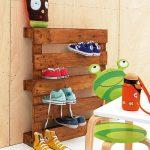Hecho en casa: zapatero infantil