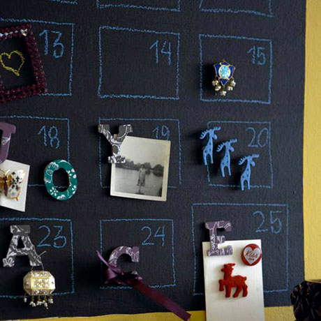 Calendario de pizarra para dormitorios infantiles - Pizarra calendario ...