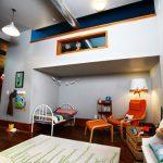 Dormitorio infantil con un escondite secreto