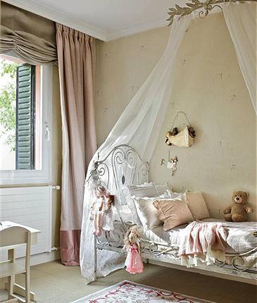 habitaciones infantiles clásicas