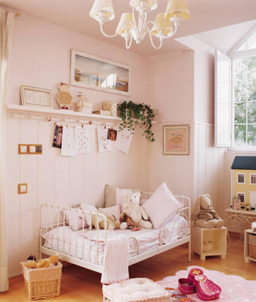 Habitaciones infantiles cl sicas decoraci n infantil - Decoracion cuarto infantil ...