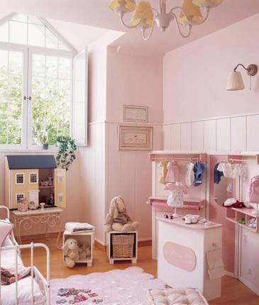 Habitaciones infantiles cl sicas decoraci n infantil for Decoracion dormitorios clasicos