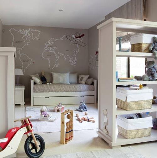 Ambientes infantiles con encanto decoraci n infantil - Dormitorios infantiles con encanto ...
