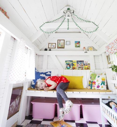 Casitas de jardin casitas infantiles de jard n para ni os for Wendy house ideas inside