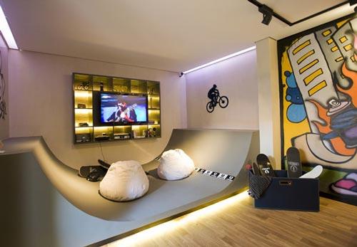 Skateboard habitaciones temáticas  Decoideas Net