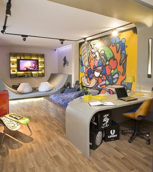 Skateboard habitaciones tem ticas - Habitaciones tematicas infantiles ...