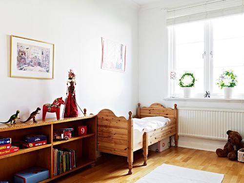 Habitaci n infantil de estilo n rdico for Habitaciones infantiles estilo escandinavo