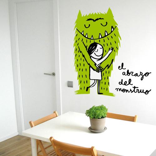 Vinilos de monstruos divertidos - Vinilos para habitacion infantil ...