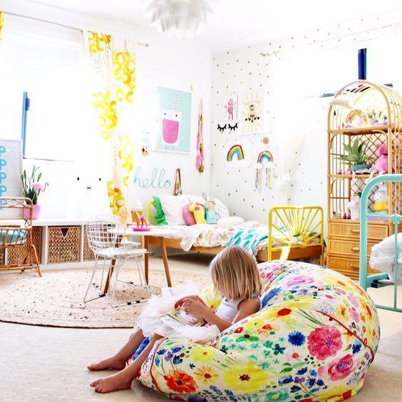 Small Kids Bedroom Ideas Plans: Como Crear Un Rincón De Lectura. Decoración Infantil