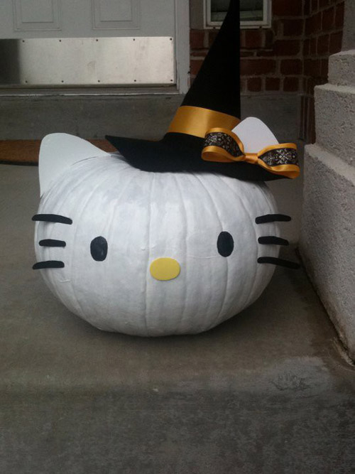 Calabaza Hello Kitty