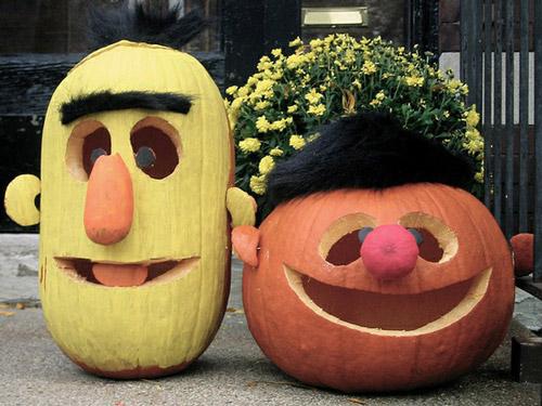 Calabazas Halloween Epi y Blas