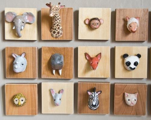 Cuadros infantiles de animales - Cuadros para habitaciones infantiles ...