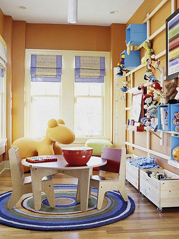 Ideas para decorar el cuarto de juegos