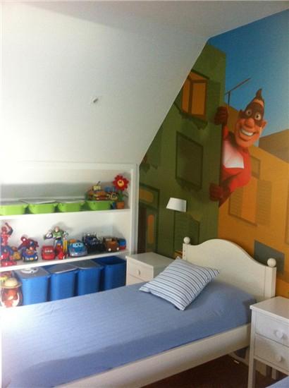 Habitaci n compartida de superh roes for Dormitorio super heroes