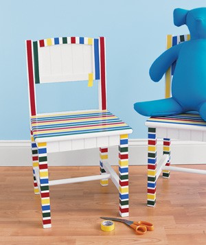 Decorar sillas infantiles