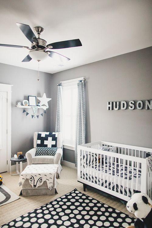 Dormitorios En Gris Para Beb 233 S