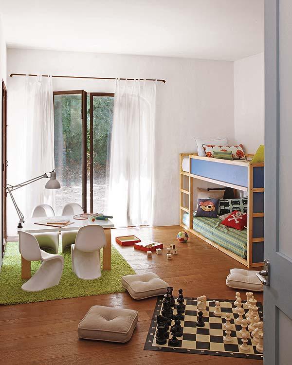 Habitaci n compartida con litera for Habitacion con litera