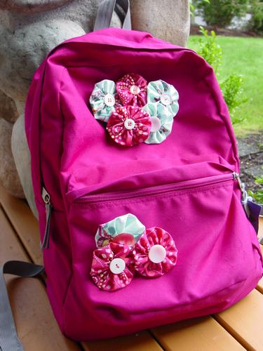 Customizar la mochila del cole DIY