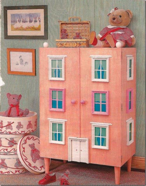 Mueble reciclado para el dormitorio infantil for Roperos para cuartos de ninas