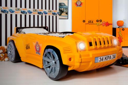 M s modelos de camas con forma de coche - Cama coche infantil ...