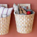 Organiza los juguetes en cestas