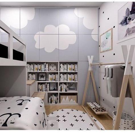 Decorar el armario infantil