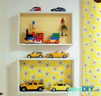 DIY estanterías infantiles