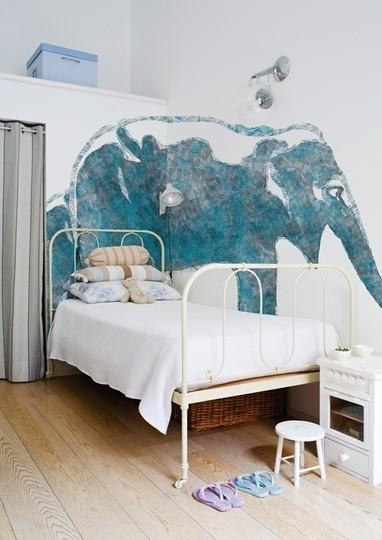Murales decorativos: elefante