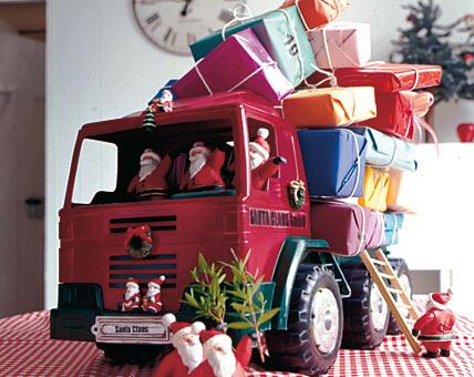 Calendario de adviento camión de bomberos