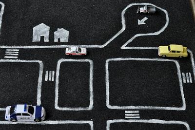 Hazlo tu mismo alfombra circuito - Alfombra circuito coches ...