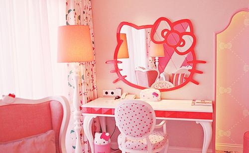 Habitaciones Dedicadas A Hello Kitty La Hermosa Gatita Blanca Que