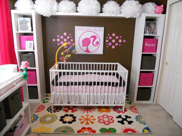 Decoracion barbie for Cuartos para nina bebe