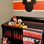 Dormitorio bebé decorado de Mickey
