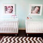 Ideas para decorar una habitación de bebes gemelos