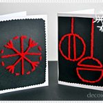 Postales de Navidad fáciles de hacer