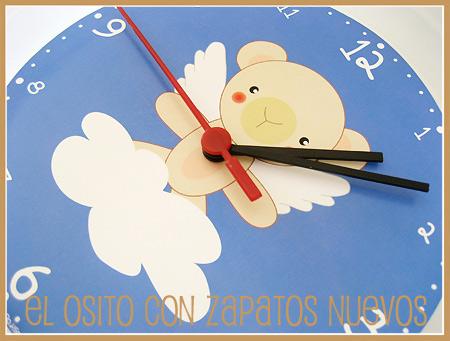Relojes de pared para niños