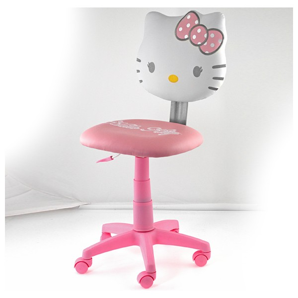 Silla de escritorio hello kitty for Precios sillas giratorias para escritorio