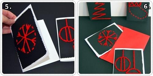 Postales de navidad f ciles de hacer - Ideas para una postal de navidad ...