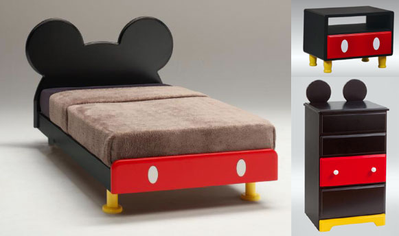 Camas de mickey imagui - Muebles de mickey mouse ...
